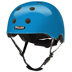 Melon Urban Active Rainbow casco per bici blu